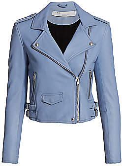IRO Women's Ashville Leather Moto Jacket