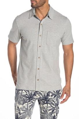 Tailor Vintage Stretch Pique Straight Hem Shirt