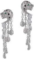 Jarin K Jewelry - Pave Panther Fringe Earrings