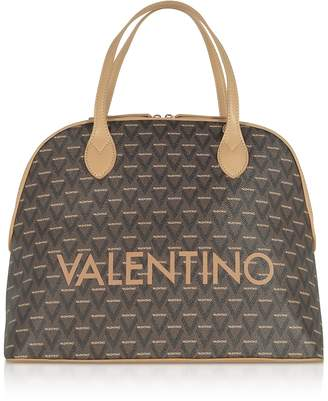 Mario Valentino Valentino By Liuto Signature Eco Leather Bowler Bag