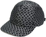 Versace Greek Key print baseball cap