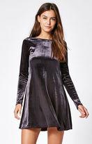 Lisakai Velvet Fit & Flare Dress