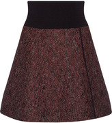 Isabel Marant Celest wrap-effect stretch-knit mini skirt