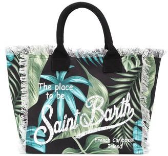 Mc2 Saint Barth Kids Vanity floral tote bag
