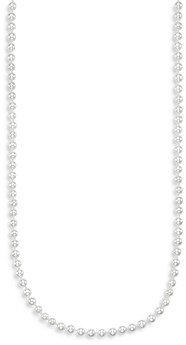Bloomingdale's Cultured Freshwater Pearl Necklace in 14K White Gold, 18 - 100% Exclusive