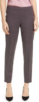 HUGO BOSS Tiluna Microcheck Trousers