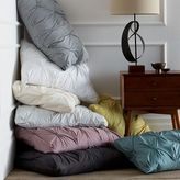 Oceania Organic Cotton Pintuck Duvet Cover + Shams