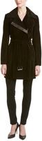 Andrew Marc Suede Trench Coat