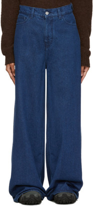 YMC Indigo Debbie Jeans