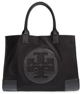 Tory Burch 'Ella' Nylon Tote - Black