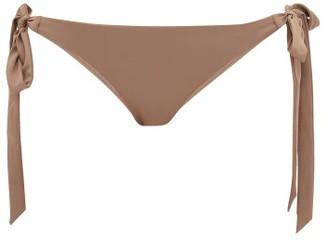 Casa Raki - Cindy Side-tie Bikini Briefs - Beige
