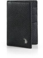 Tod's Vertical Leather Card Case
