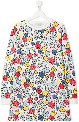 Stella McCartney TEEN Smiling Flowers Dress