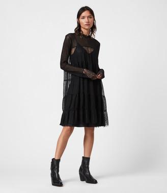AllSaints Briella Lace Dress