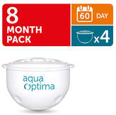 Aqua Optima 60 Day Water Filter - 4 Pack