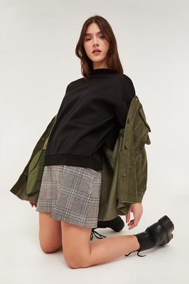 Ardene Glen Plaid Mini Skirt
