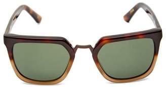 Kirk Originals James Square Metal Bridge Sunglasses
