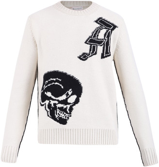 Alexander McQueen Intarsia Sweater