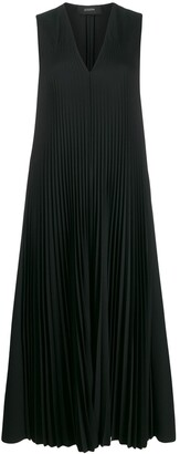 Joseph V-neck pleated dress