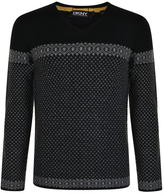 Dkny Fairisle Knit Jumper