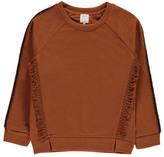 Little Karl Marc John Strimy Fringes Sweatshirt