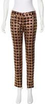 Balmain Brocade Skinny Pants