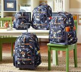 Pottery Barn Kids Mackenzie Blue Robot Backpacks