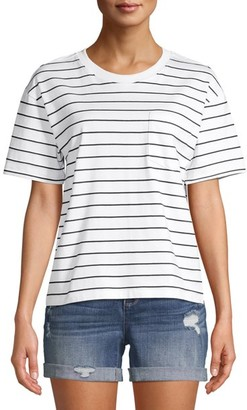 Time and Tru - Women's Boyfriend T-Shirt - Walmart.com
