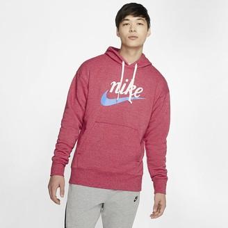 Nike Men's Graphic Pullover Hoodie Sportswear Heritage