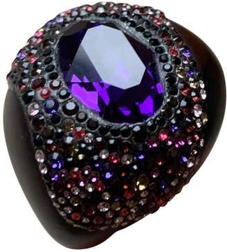 Swarovski \N Purple Crystal Rings