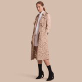 Burberry Macramé Lace Wrap Trench Coat