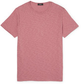Theory Gaskell Slim-fit Slub Cotton-jersey T-shirt - Pink