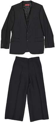 HUGO BOSS Black Wool Suits