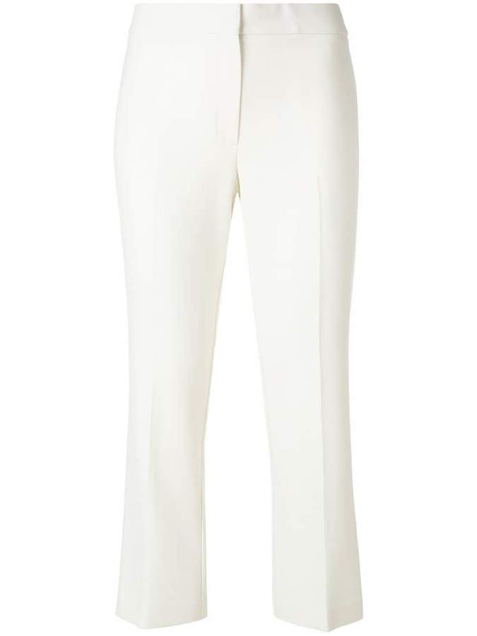 Theory tailored crop trousers