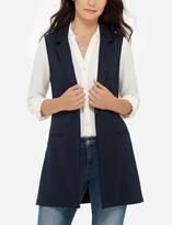 The Limited Notch Lapel Sleeveless Jacket