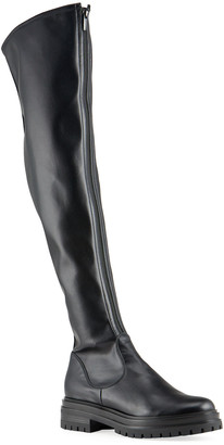 Gianvito Rossi Stretch Napa Over-The-Knee Boots
