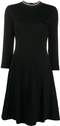 Calvin Klein Knitted Crew Neck Dress