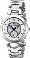 Lucien Piccard Women's LP-10268-22 Casablanca Analog Display Silver-Tone Watch