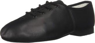 Bloch Girl's Jazzflex Suede Split Sole Leather Jazz Shoe Dance