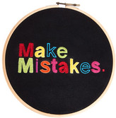 Fab Embroidered Make Mistakes