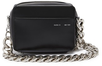 Kara Oversized chain camera bag