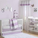 The Peanut Shell Tri-Style Crib 7 Piece Crib Set in Purple