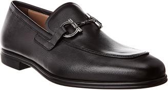 Salvatore Ferragamo Gancini Leather Loafer