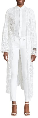 Polo Ralph Lauren Whitney Lace Duster Jacket