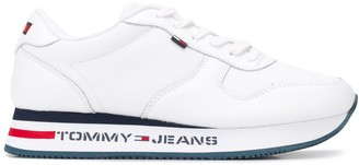 Tommy Jeans Logo Print Low Top Sneakers