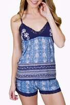 PJ Salvage Blues Traveler Cami Top