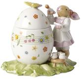 Villeroy & Boch Bunny Family Egg Box Painter Porcelain Figurine