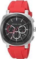 Michael Kors Men's Bax Red Watch MK8552