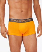 Emporio Armani Men's Logo Waistband Trunks