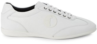 Versace Leather Soccer Shoes